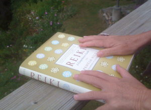Reiki Book Hands