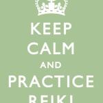 Keep Calm Practice Reiki