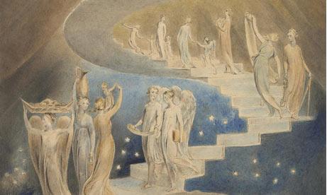 William Blake: Jacob's Ladder
