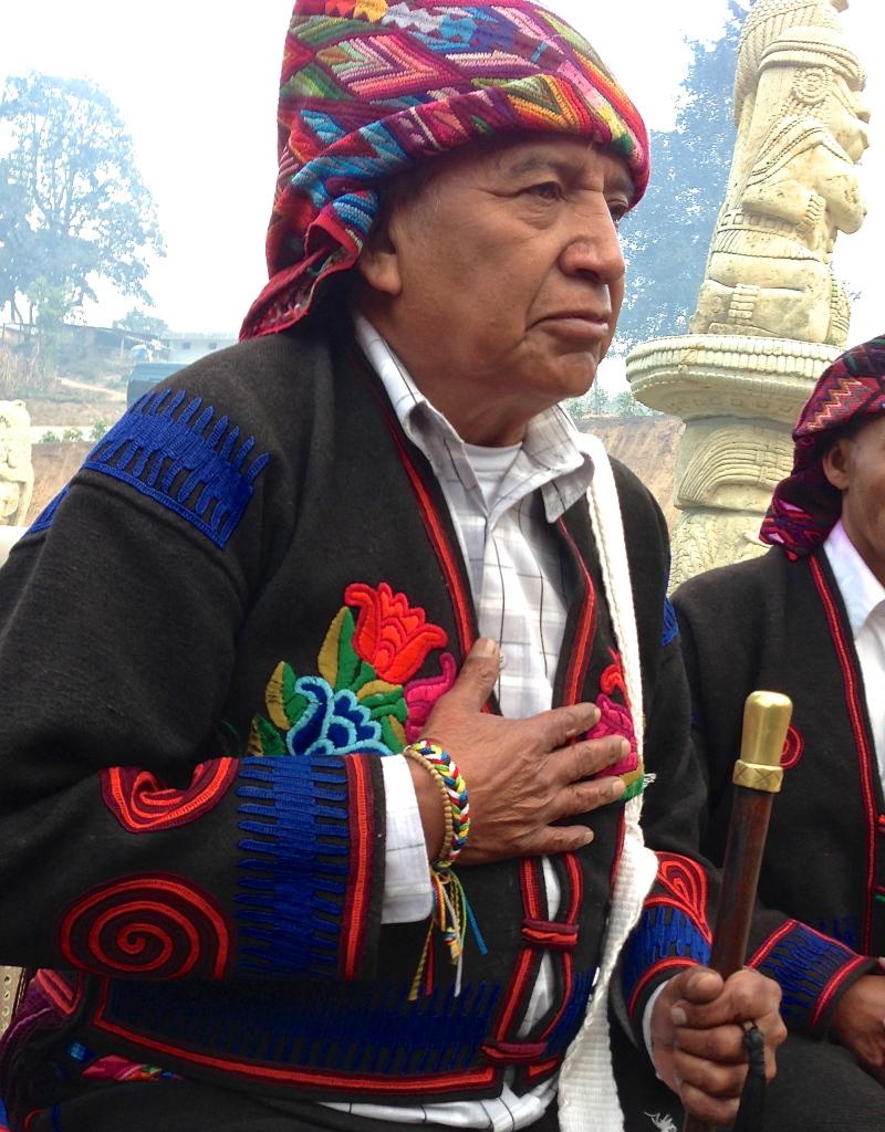 Mayan leader Don Tomas