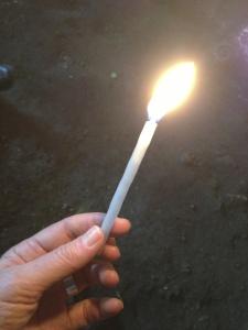 Reiki Healing Hand candle