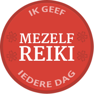 Self-Reiki Badge Dutch