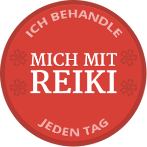 Self-Reiki Badge German