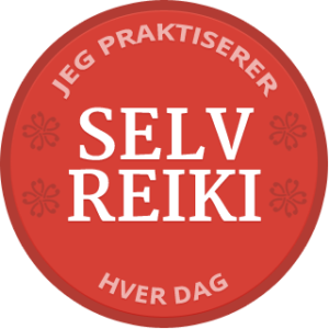 Self-Reiki Badge Danish Norwegian