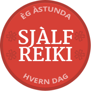 Self-Reiki Badge Icelandic