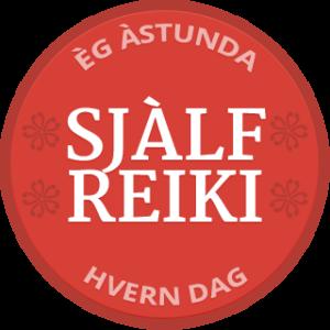 Self-Reiki Badge Icelandic
