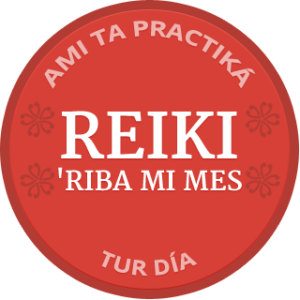 Self-Reiki Badge Papiamento