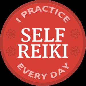 I practice daily self Reiki
