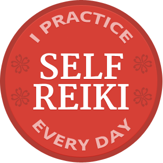 I practice daily self Reiki