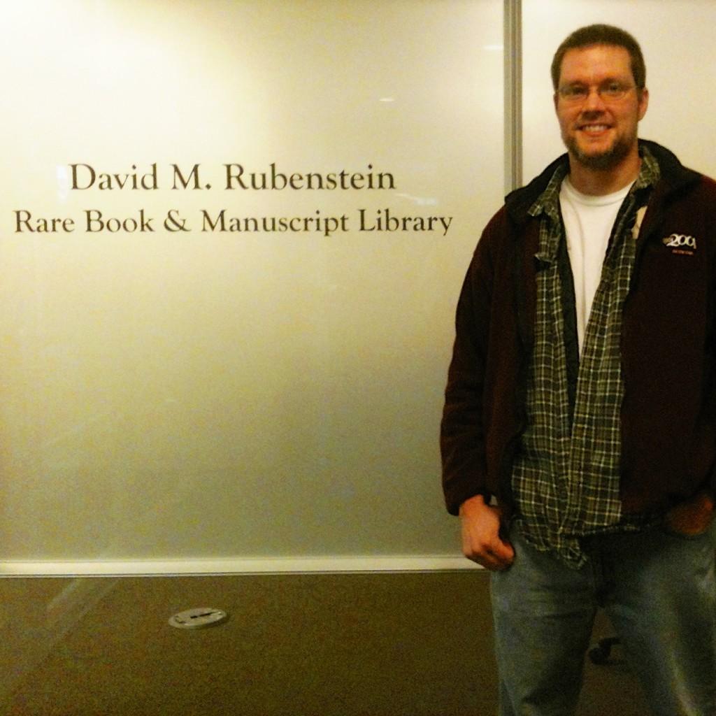 Robert Fueston at Duke archives
