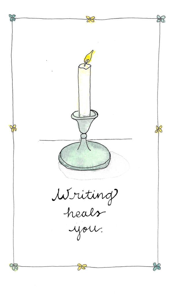 Writing heals you by Cynthia Morris