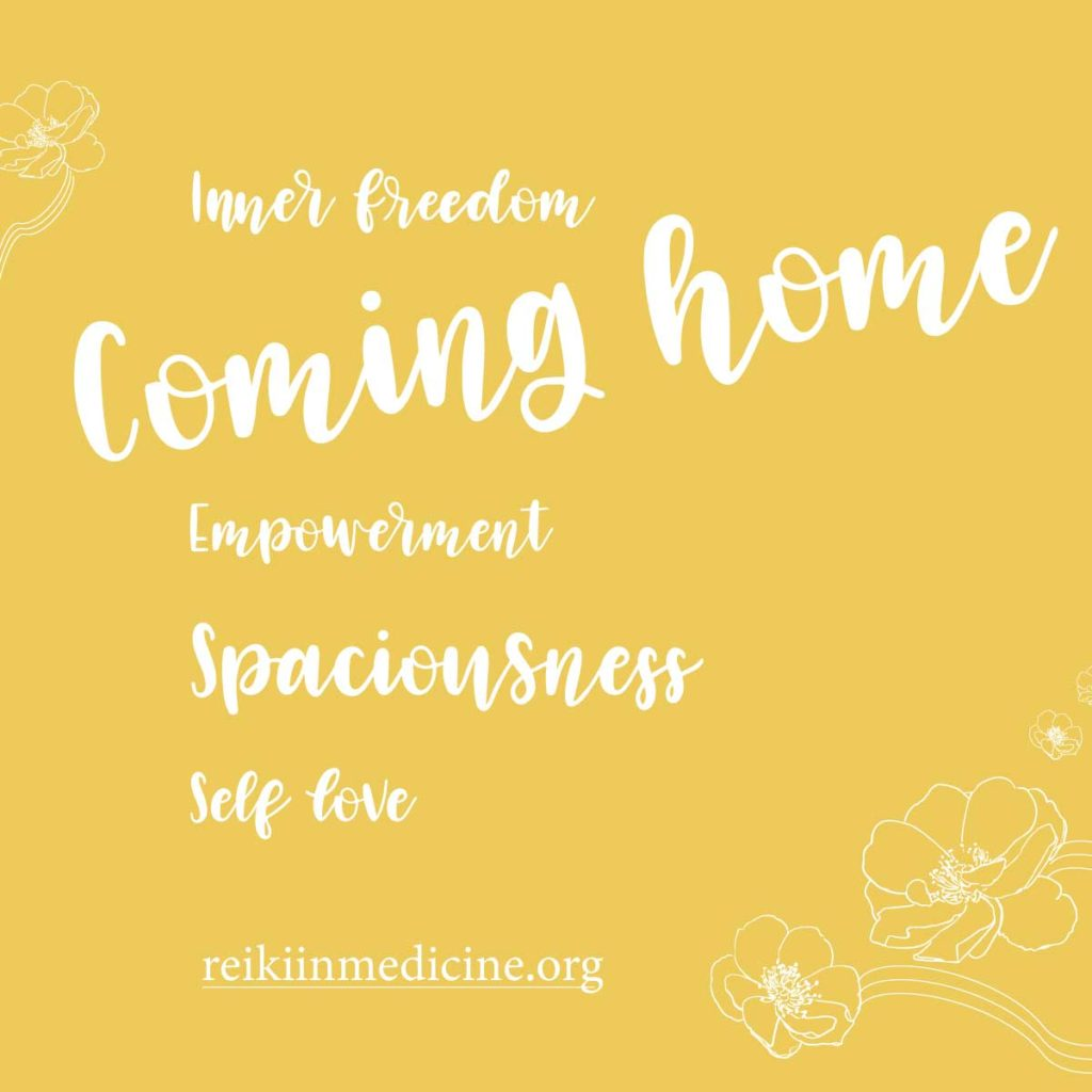 Inner Freedom - Graphic, Coming Home Mini - Retreat with Pamela Miles