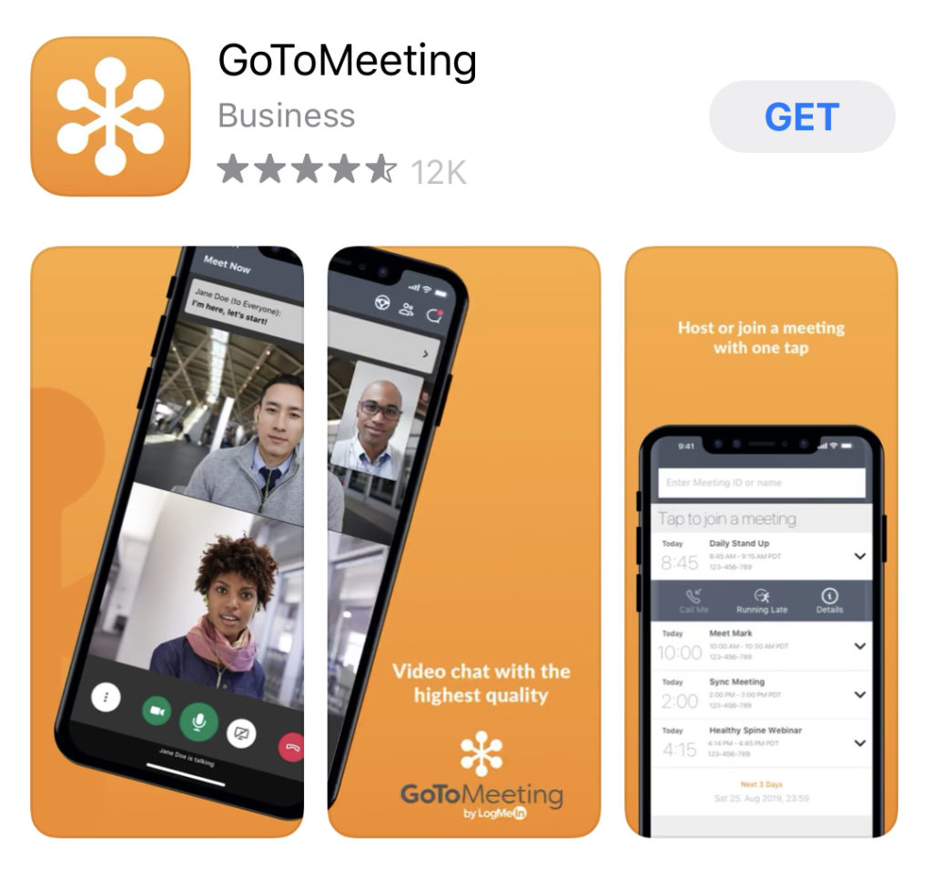 Gotomeeting App for iPhone